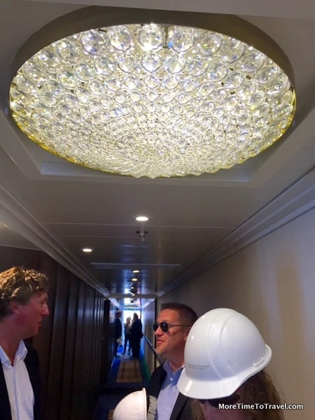 One of 200 chandeliers
