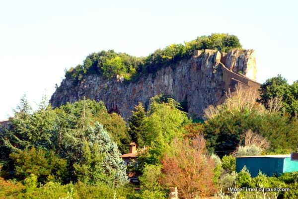 "The ""Rocca"" in the small locality of Rocca Ripesena"