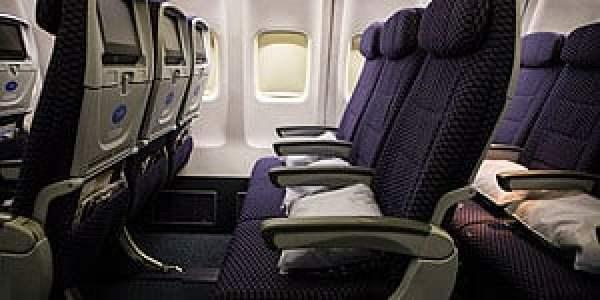 United Economy Seats (screenshot)
