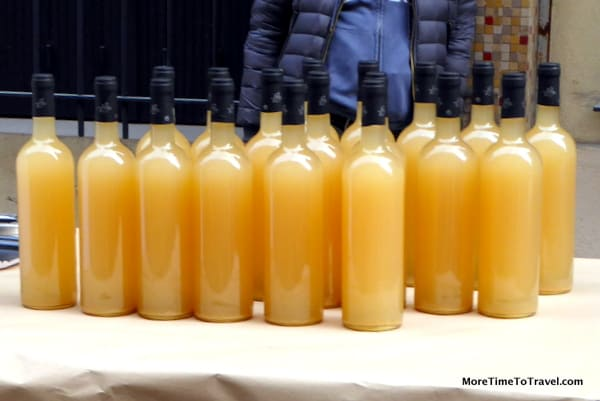 Display of Vin Nouveau