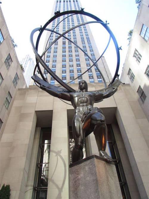 Atlas at Rockefeller Plaza