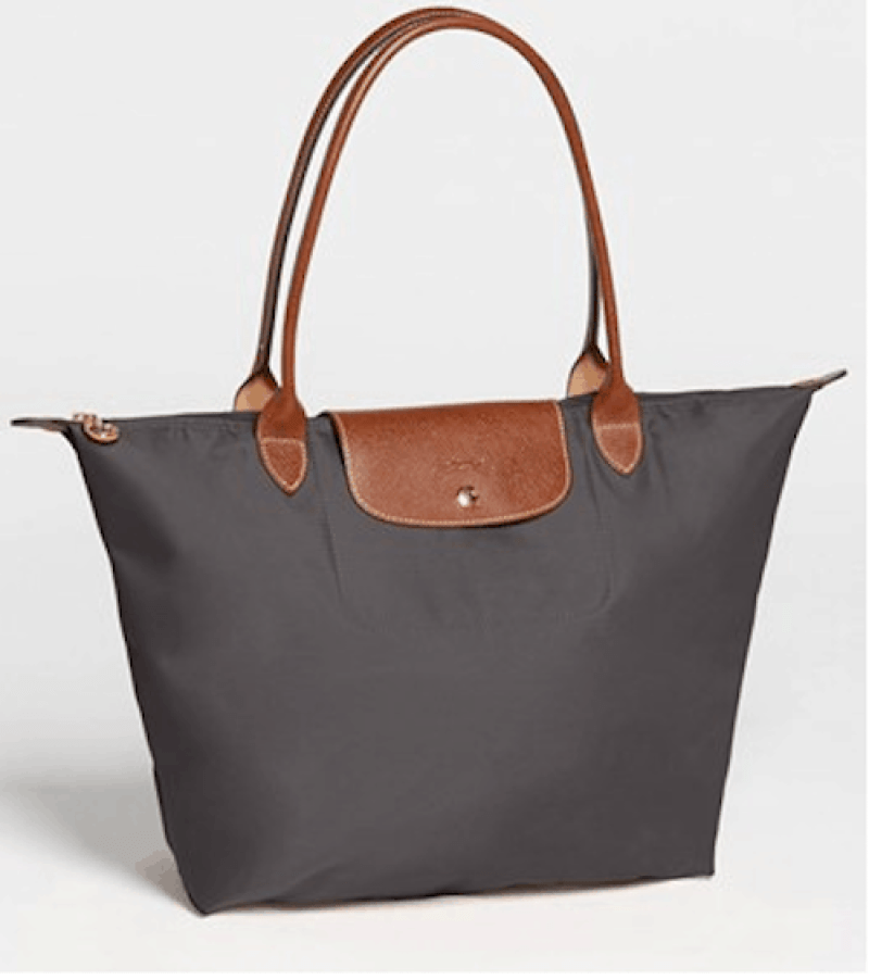 How to pack for a river cruise: My standard travel bag: The Longchamps Pliage Tote
