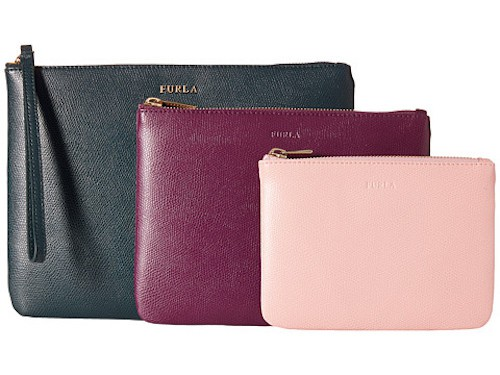 Furla wristlet set (available from Zappos)