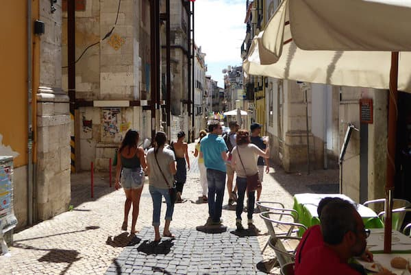 Small-group walking tour in Lisbon with Viator.com