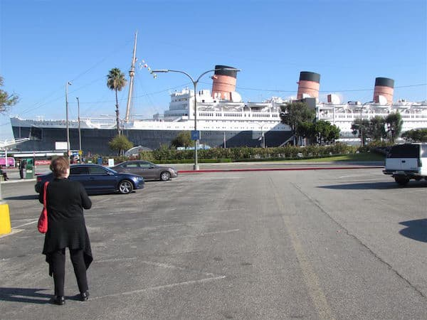 Approaching The Queen Mary (Credit: John and Sandra Nowlan)