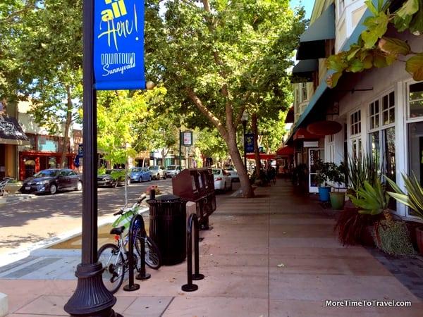 Murphy Avenue in downtown Sunnyvale