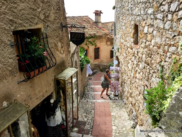 Alley in Eze, France