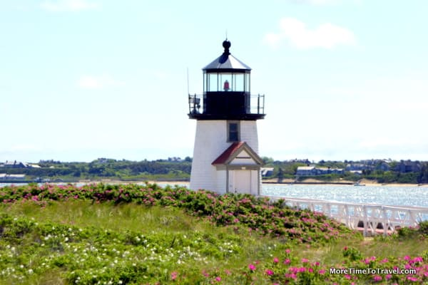 Brant Point LIghthouse in Nantucket
