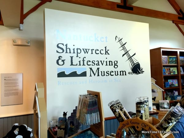 Entering the Shipwreck and Lifesaving Museum