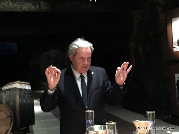 Master Blender, Frederic Dezauzier, who is also a global ambassador for the brand