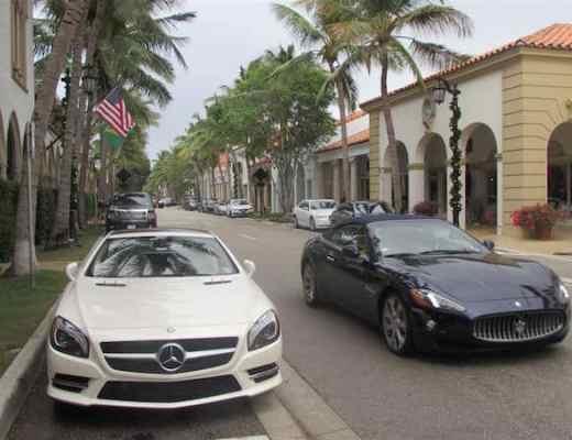 Worth Avenue: Money & Cars (Credit: John and Sandra Nowlan)