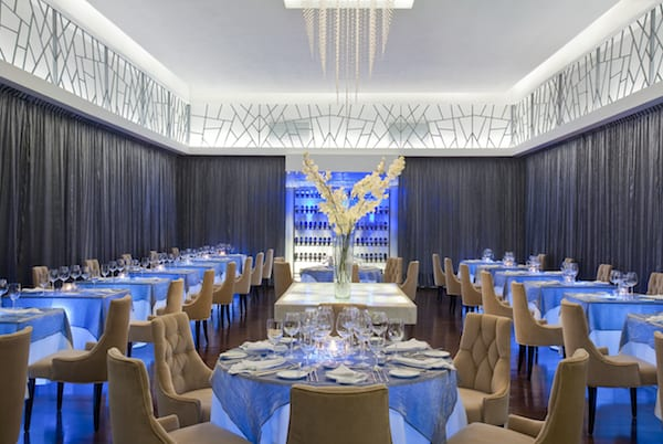 Interior Lumiere, French-fusion restaurant at Le Blanc Spa Resort (Photo Credit: Le Blanc Spa Resort)