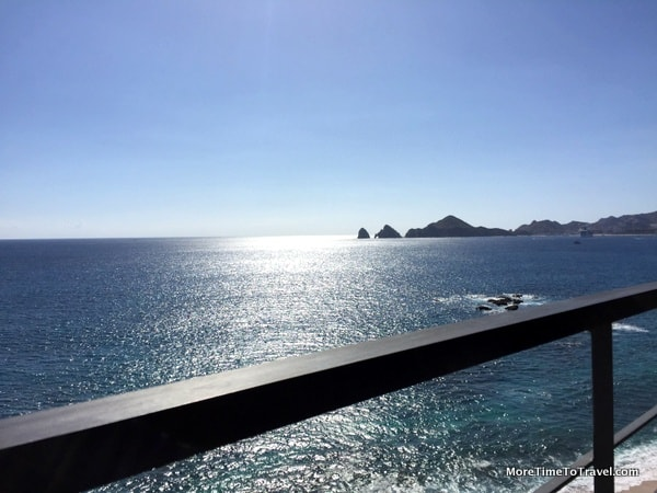 View of Land's End from our balcony