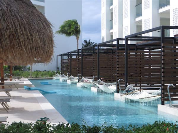 Swim-up suites at Excellence Playa Mujeres