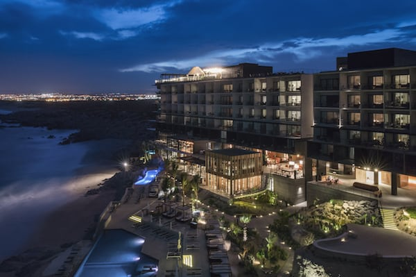 The Cape , A Thompson Hotel at night (Photo Credit: Thomas Hart Shelby)