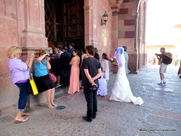 Wedding in San Miguel de Allende, Guanajuato, Mexico