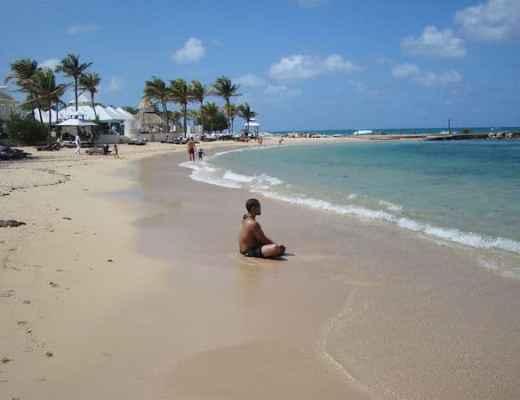 Serene beach at Melia Braco Village