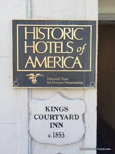 Kings Courtyard Inn is part of Historic Hotels of America