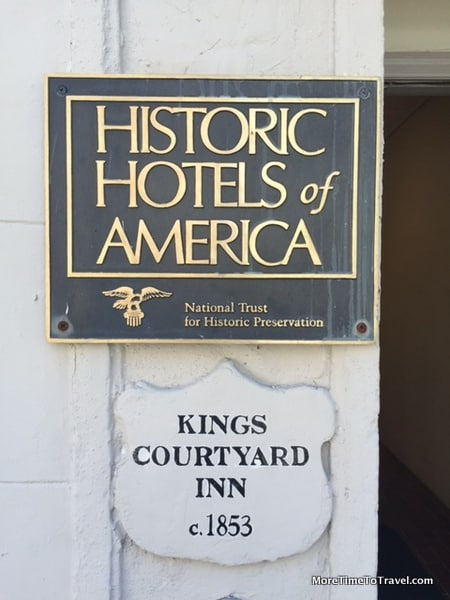 Kings Courtyard Inn is part of Historic Hotels of America