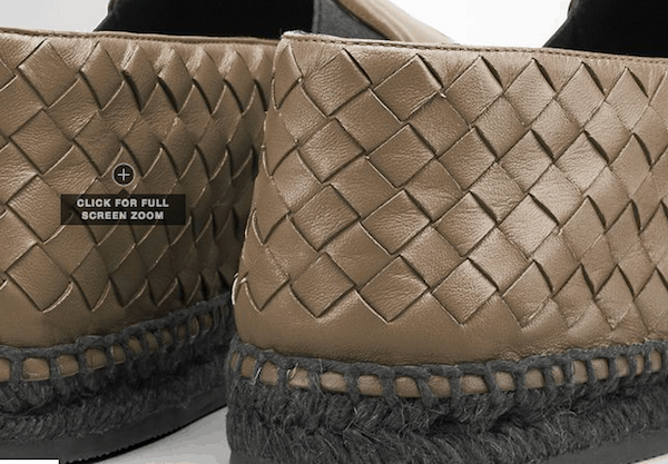 Bottega Veneta flats that retail for over $600