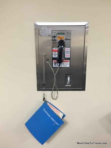 Airport phone at BDA