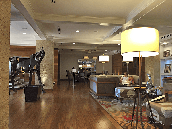 Loved the huge horse sculpture in the lobby.