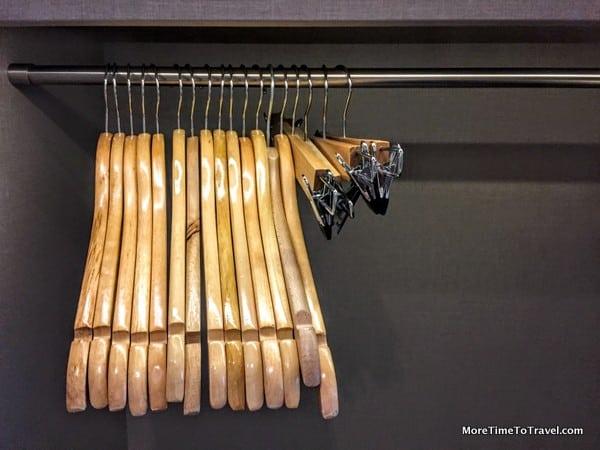 Our hanger stash on the Viking Torgil