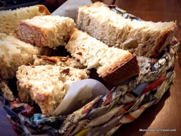 Essential ingredient #4: Freshly-baked crusty bread