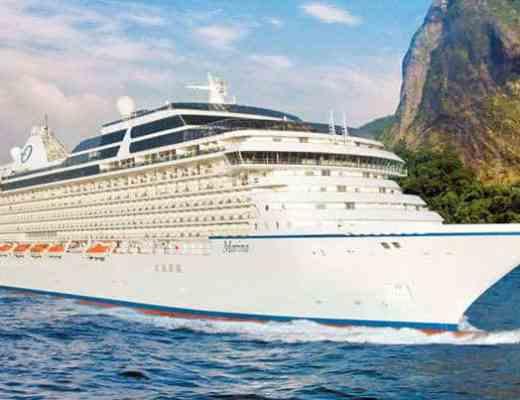 Oceania Marina (Credit: Oceania Cruises)