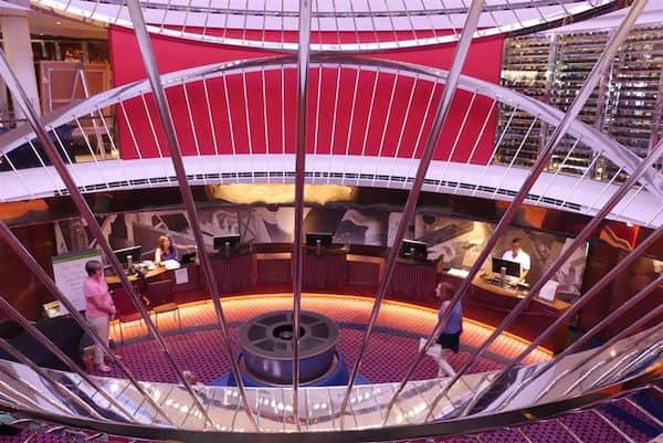 Koningsdam-Atrium-and-its-String-Quartet-Theme