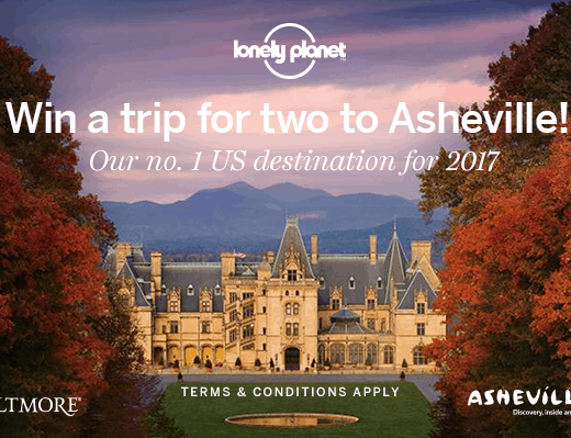 Lonely Planet Asheville Sweepstakes