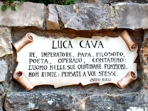 The legend of Luca Cava