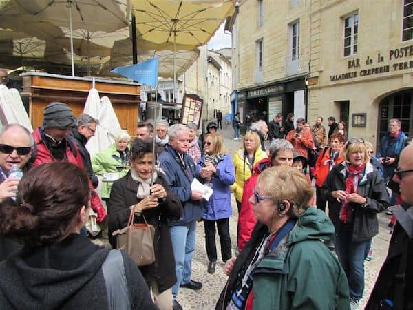 Guided walking tour of St Emilion