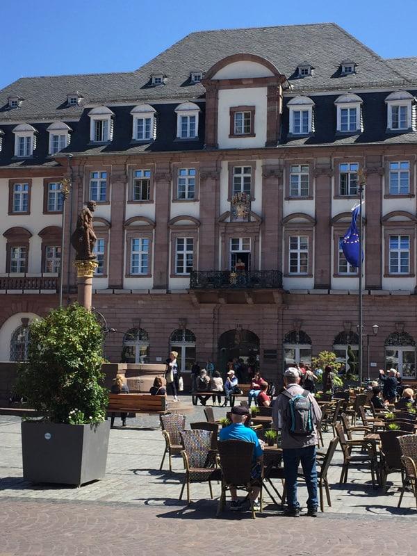 Town Square in Heidelberg