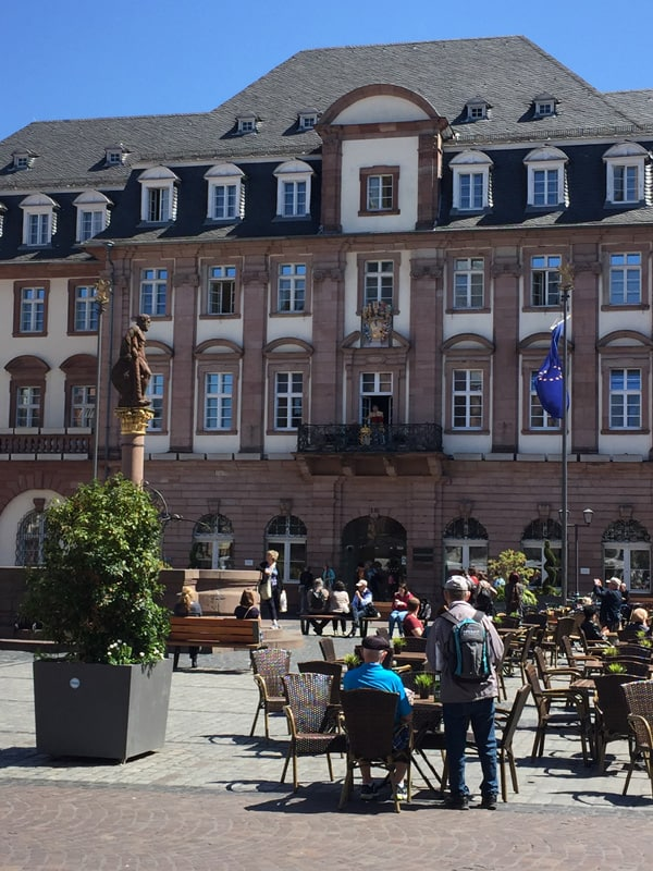 Town Square in Heidelberg