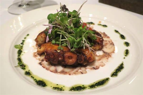 Grilled octopus Carnevino