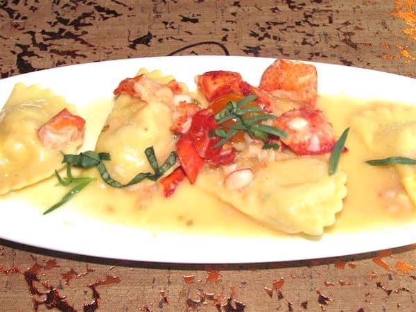 Lobster Ravioli at Giada