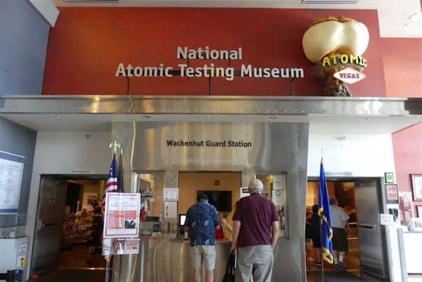 The National Atomic Testing Museum in Las Vegas