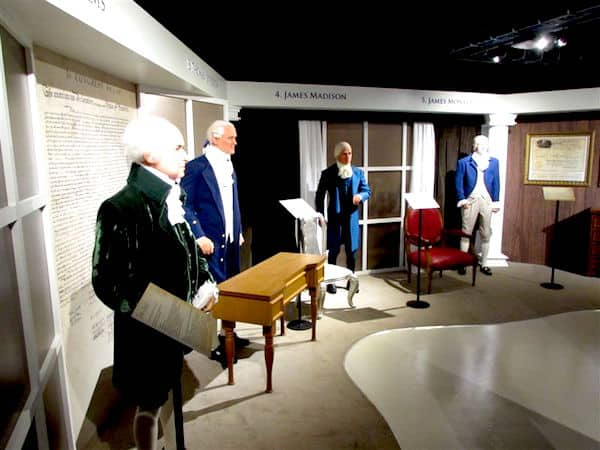 American Presidents at Boston Wax Museum