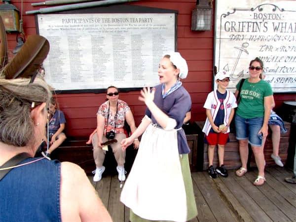 Tea Party Actors in Character