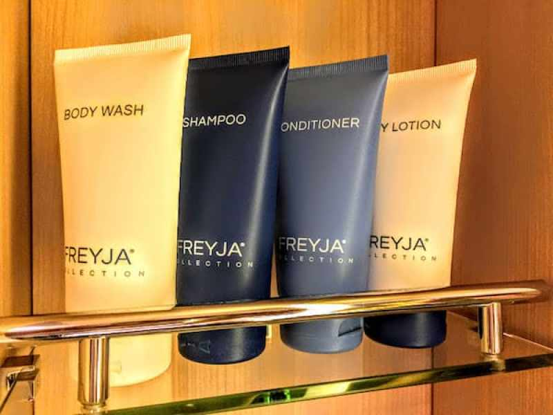 Packing for a Viking Ocean Cruise: Freyja Toiletries are stocked on Viking Ocean Cruises