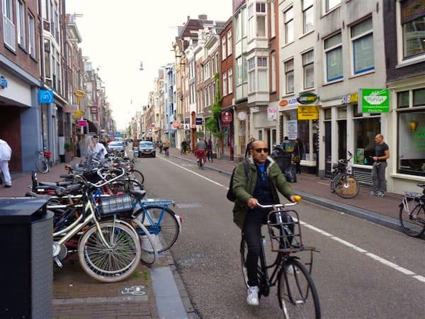 Bicycles everywhere in Amsterdam