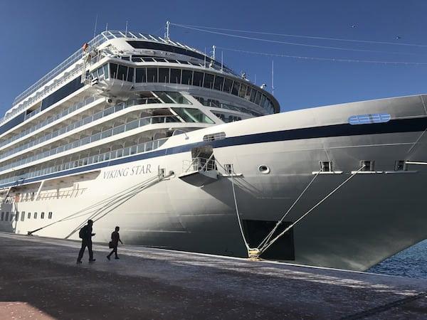Viking Star in port