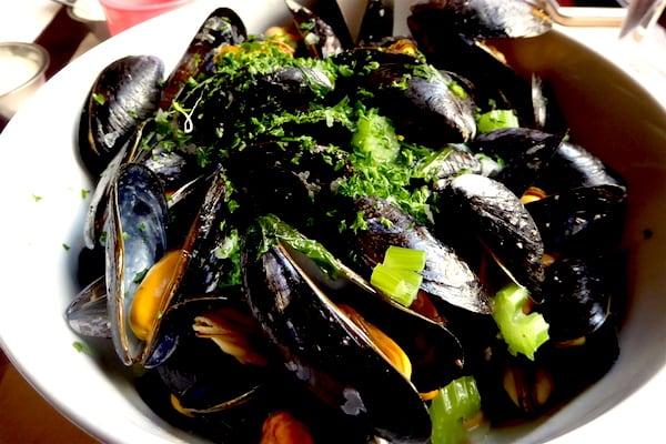 Mussels at De Koetse (Photo credit: Jerome Levine)