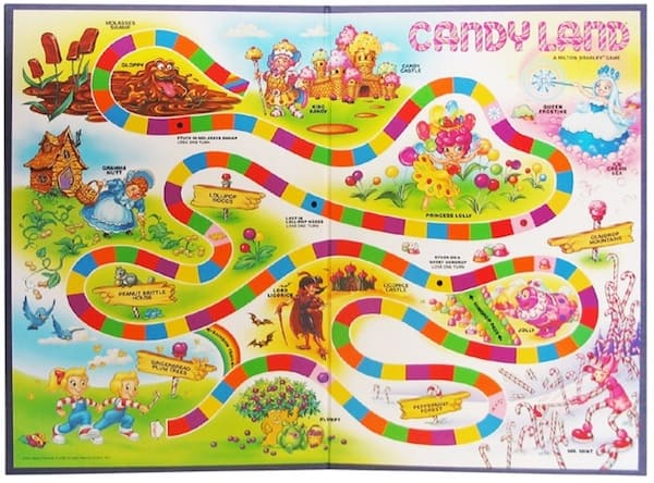 Candyland: Remember this game of your childhood?