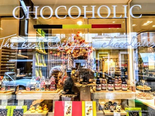 Shop window in Bruges
