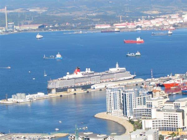 Queen Elizabeth in Gibraltar