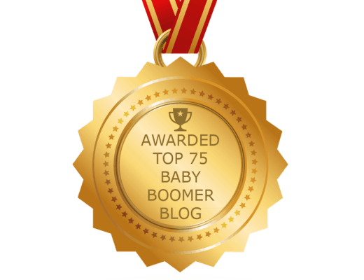 Top Baby Boomer Blog Award