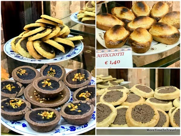 Pastries at Pasticceria Andrea Ascalone in Galatina
