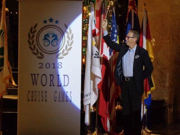 U.S. Olympian Dwight Stones on Crystal Serenity World Cruise